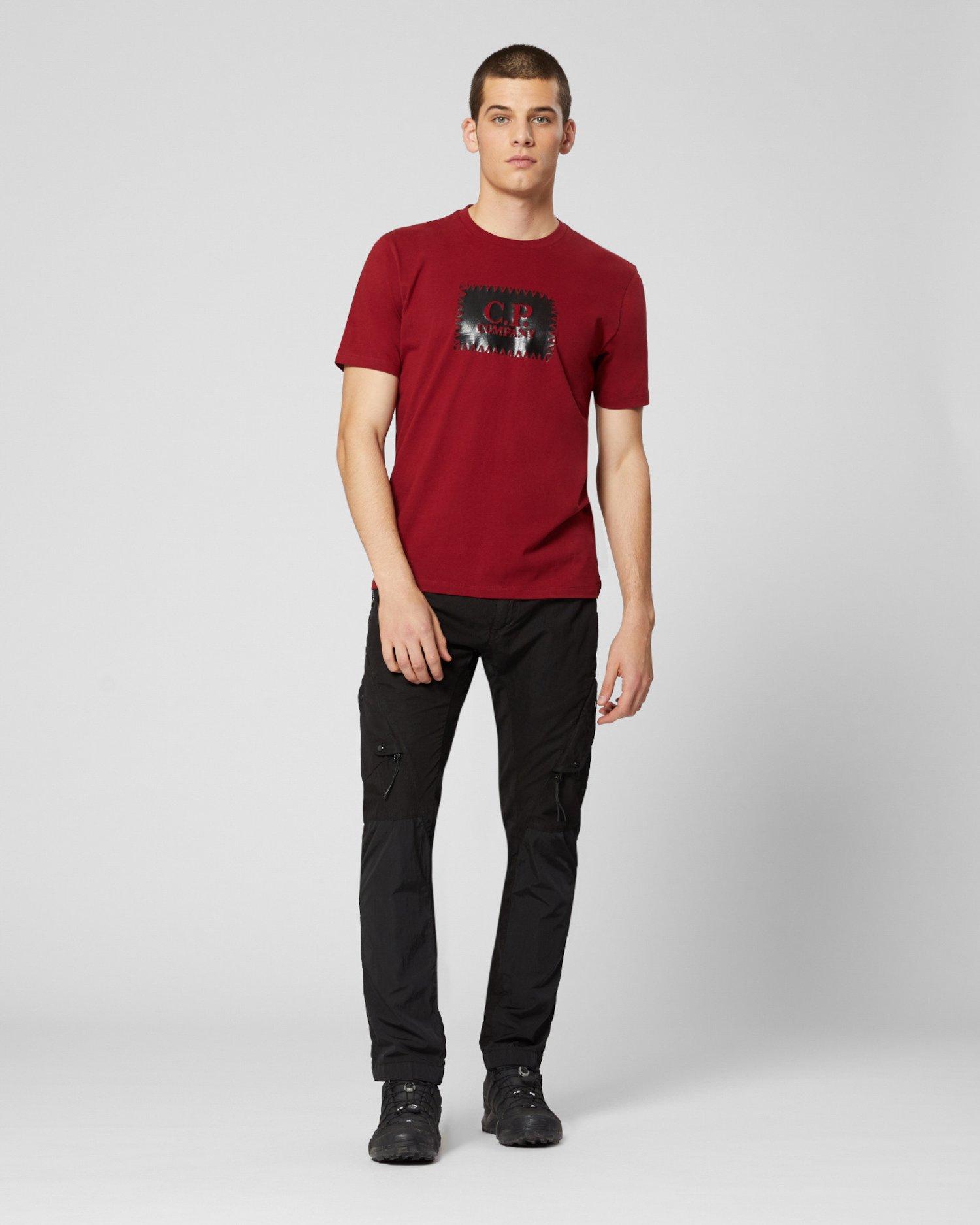 Jersey 30/1 Label Print T-Shirt