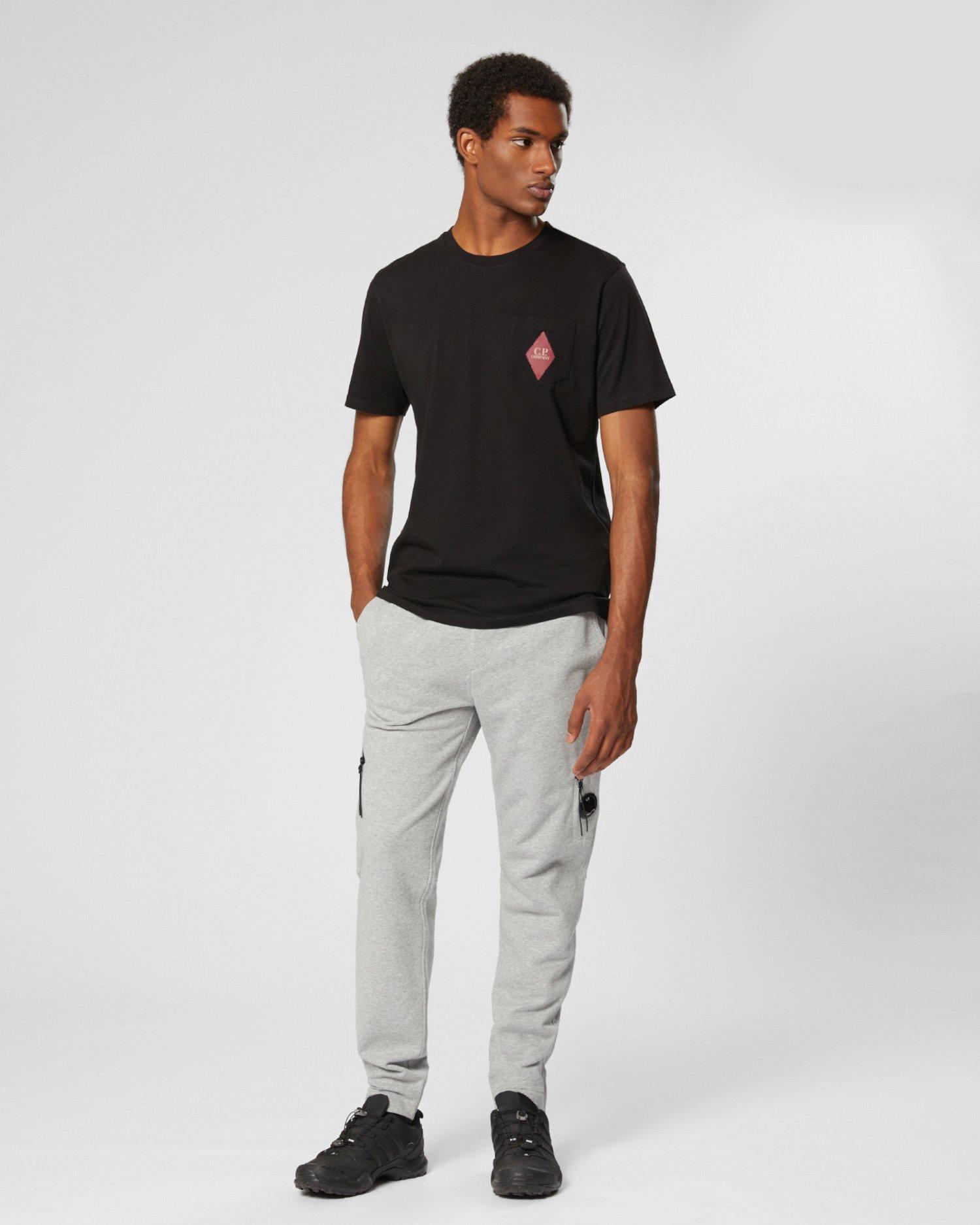 T-shirt à patch traditionnel en jersey 30/1