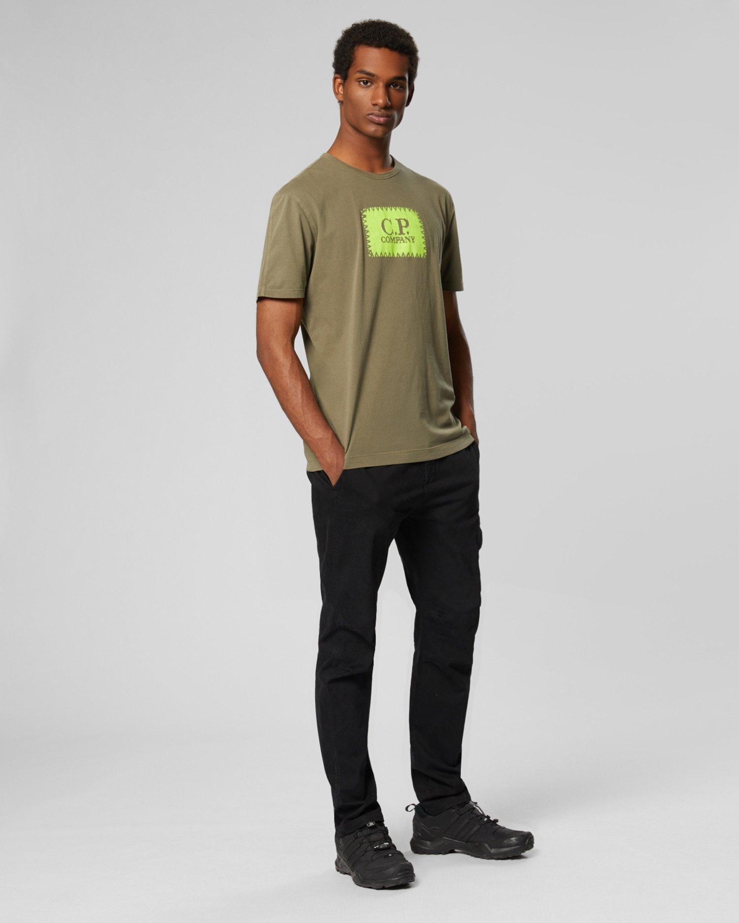 T-shirt en jersey à manches courtes Re-Colour