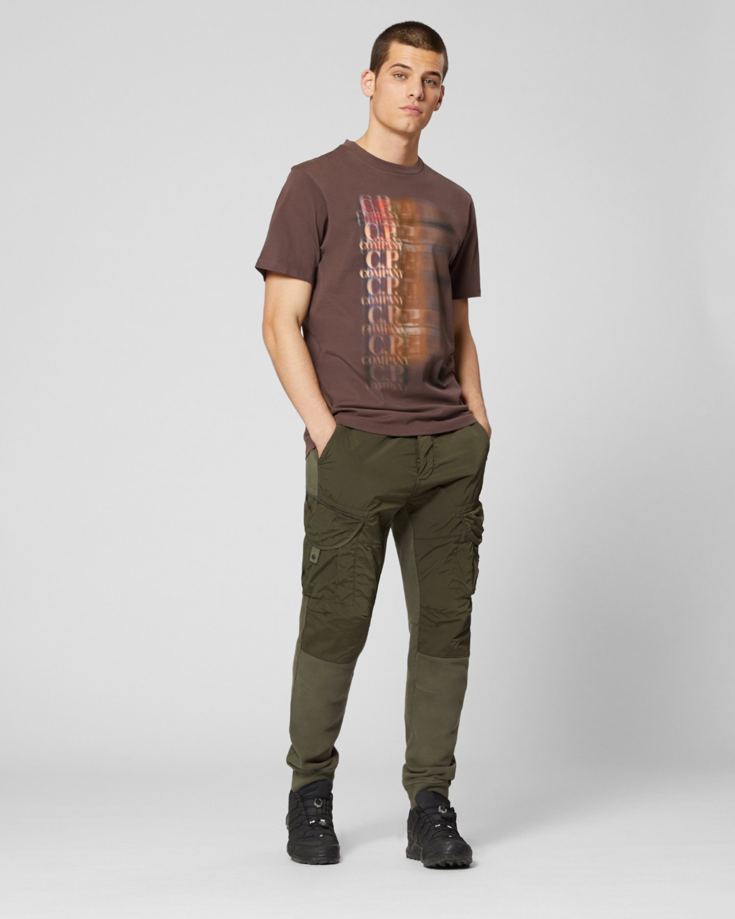 T-Shirt aus 20/1-Jersey mit Chemburns-Logo