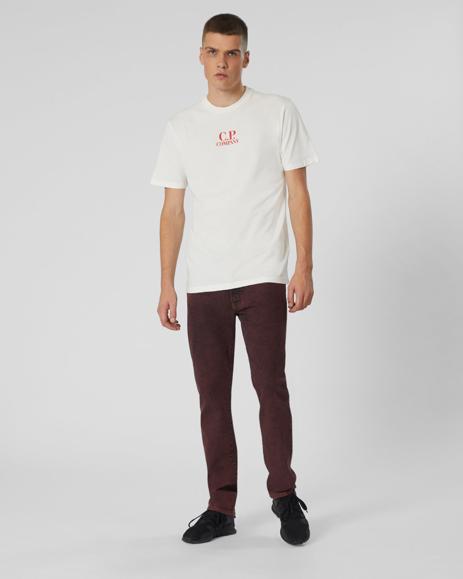 Jersey 20/1 S/S Tee in White