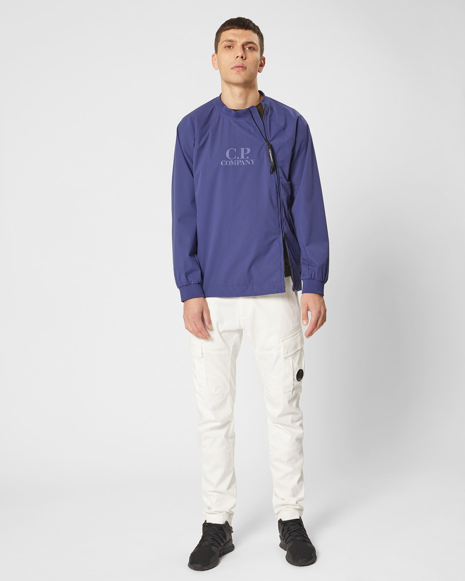 Pro-Tek Asymmetric Zip Sweat