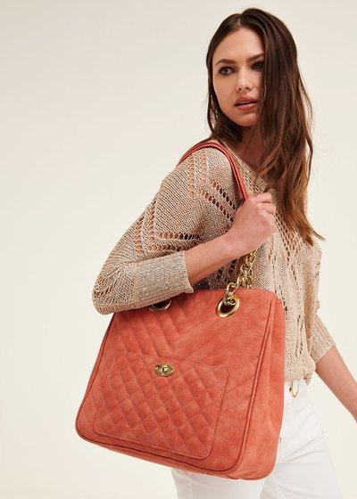 Shopping bag Born con tasca frontale