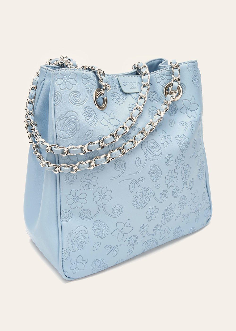 Baika shopping bag with floral pattern - Rugiada - Woman