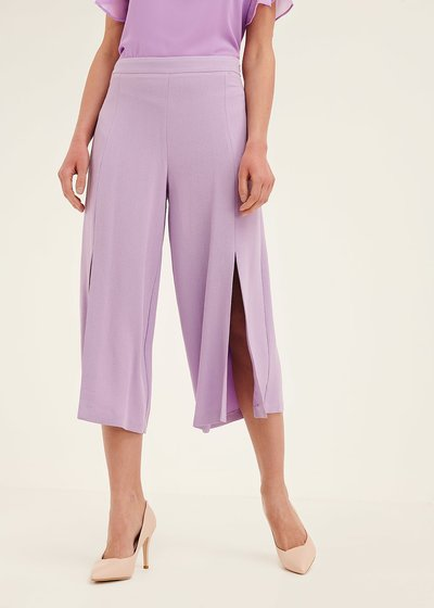 Patric short palazzo trousers