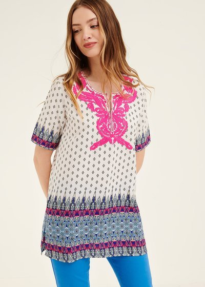 Chatrin kaftan blouse