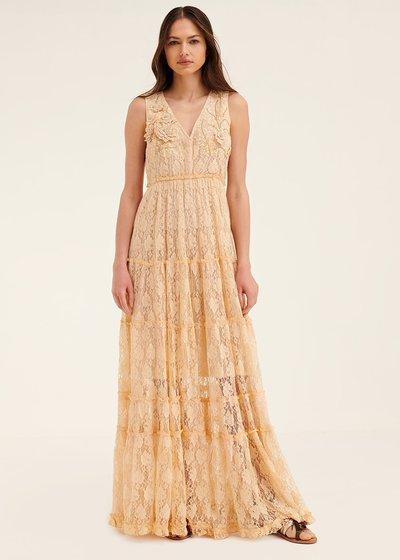 Adyd dress with flounced skirt