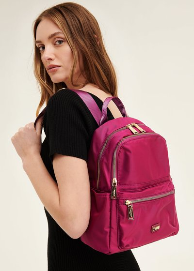 Barney nylon backpack