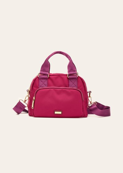 Beky nylon Boston bag