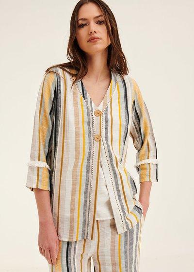 Camicia Cecilia righe verticali