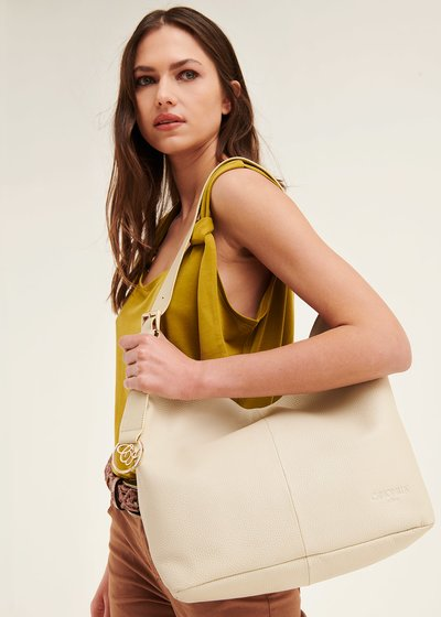 Beril genuine leather sack bag