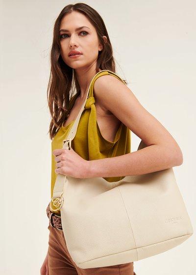 Beril genuine leather sack bag