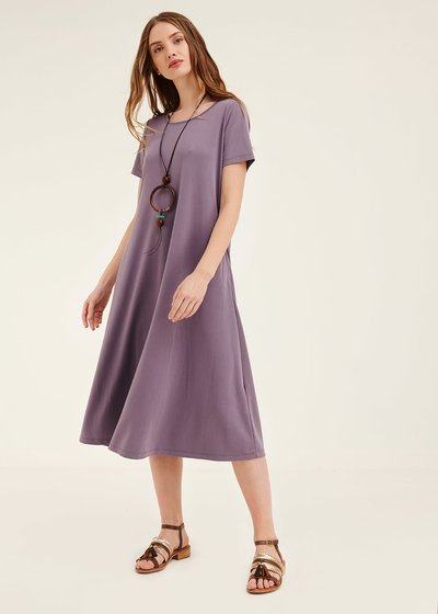 Andres modal jersey dress