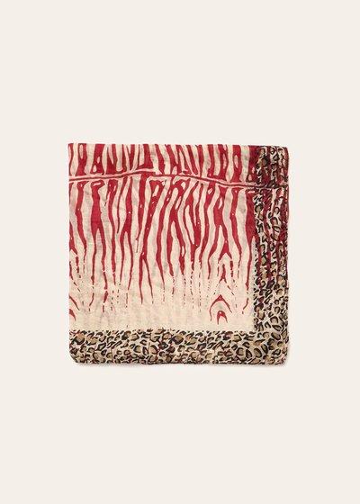 Soel animal print scarf
