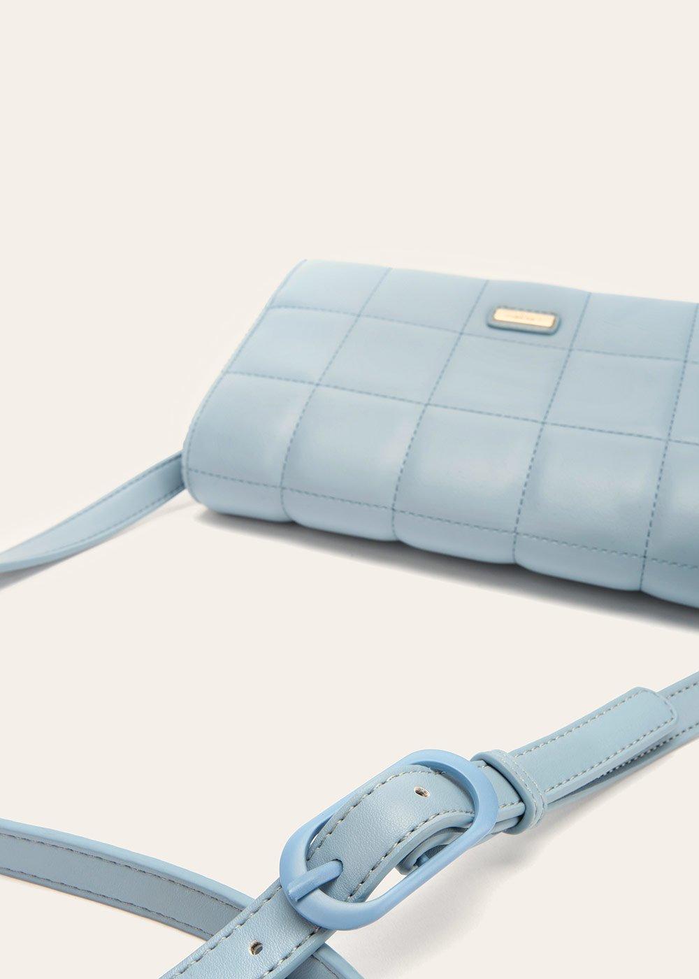 Bridget quilted shoulder bag - Sky - Woman