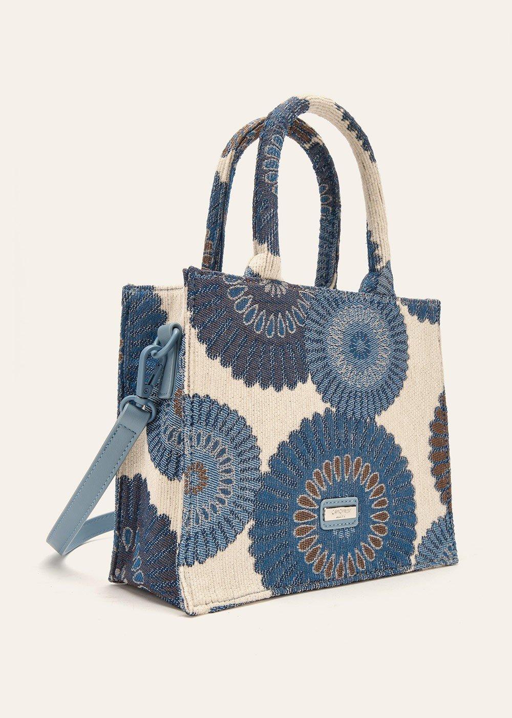 Minibag Brandy tessuto jacquard - Avion Fantasia - Donna