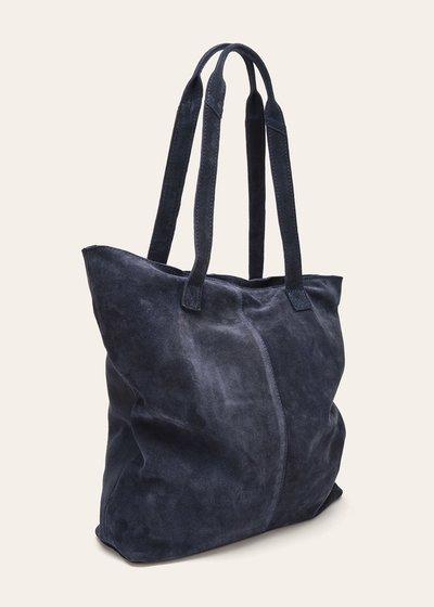 Shopping bag Brigit in vera pelle sfoderata