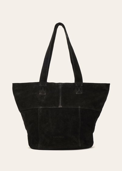 Britney unlined genuine leather shopping bag
