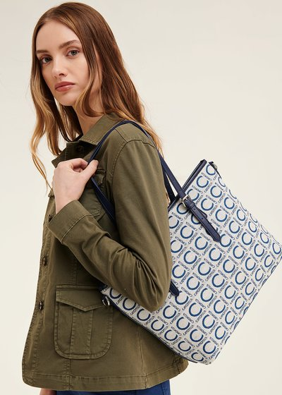 Logomania shopping bag