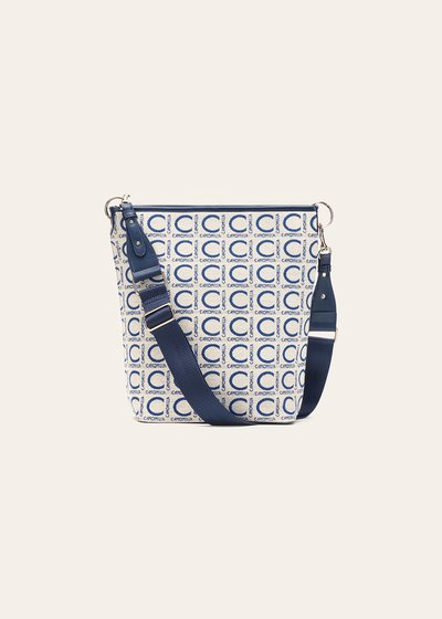 Bardy logomania shoulder bag