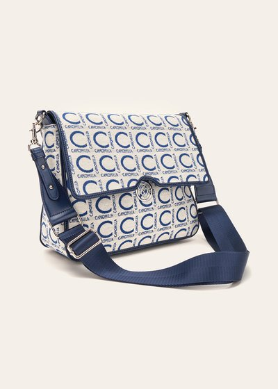 Batyk logomania shoulder bag with flap