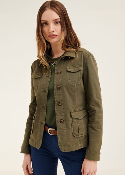 Kelly jacket with patch pockets
