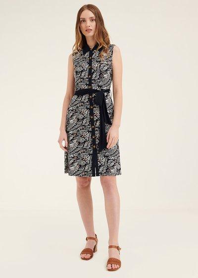 Argo dress with waist belt