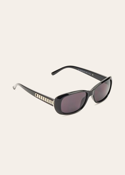 Sunglasses with chain detail