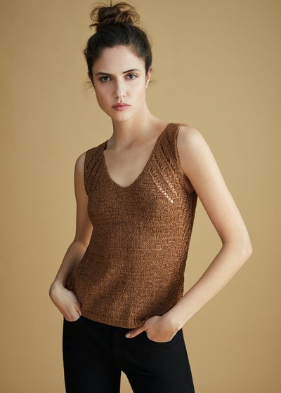 Tiago crochet top