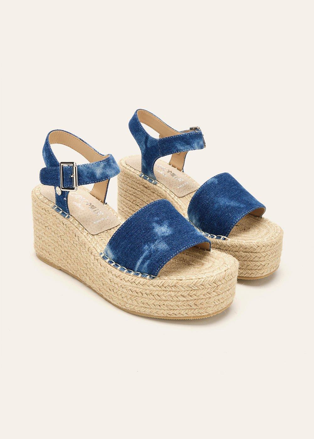 Sher denim sandal - Medium Denim - Woman