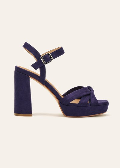 Syra sandal with ankle strap