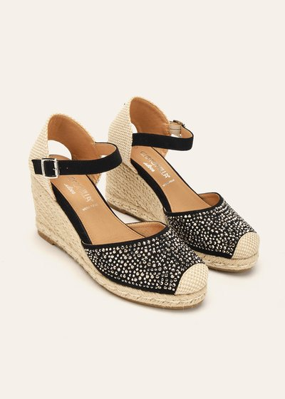 Sheyen espadrille-model sandal