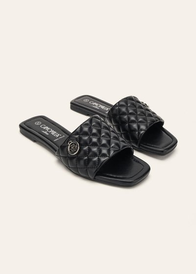 Shiray padded slide sandals