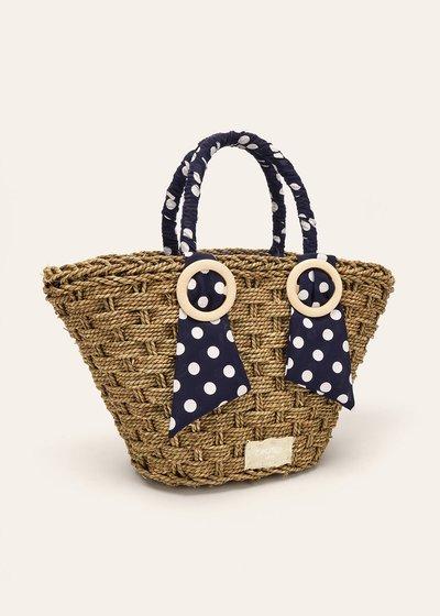 Bernie bag with polka dot details