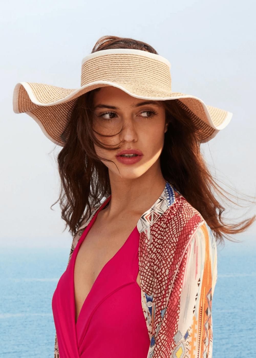 Ciapas visor hat - Safari - Woman