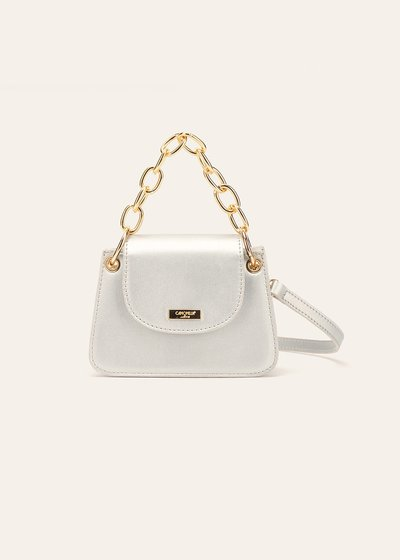 Bret clutch bag with chain