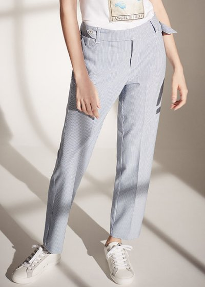Alice slim-leg trousers