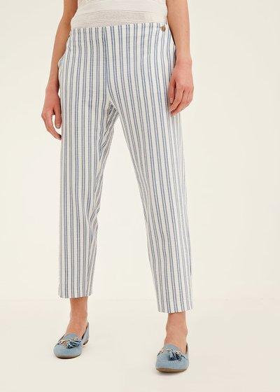 Pantalone Cara a righe veriticali