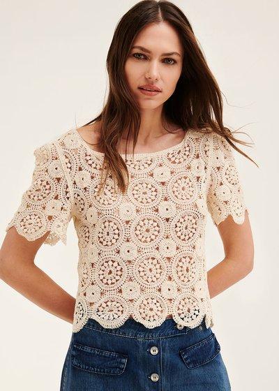 Selly crochet t-shirt