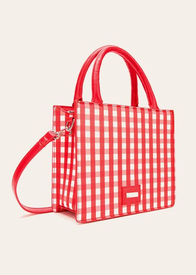 Bryanna vichy print shoulder bag