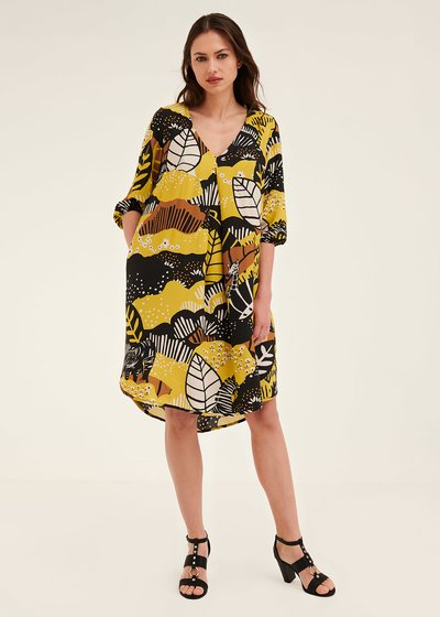 Alvyn Naive print dress