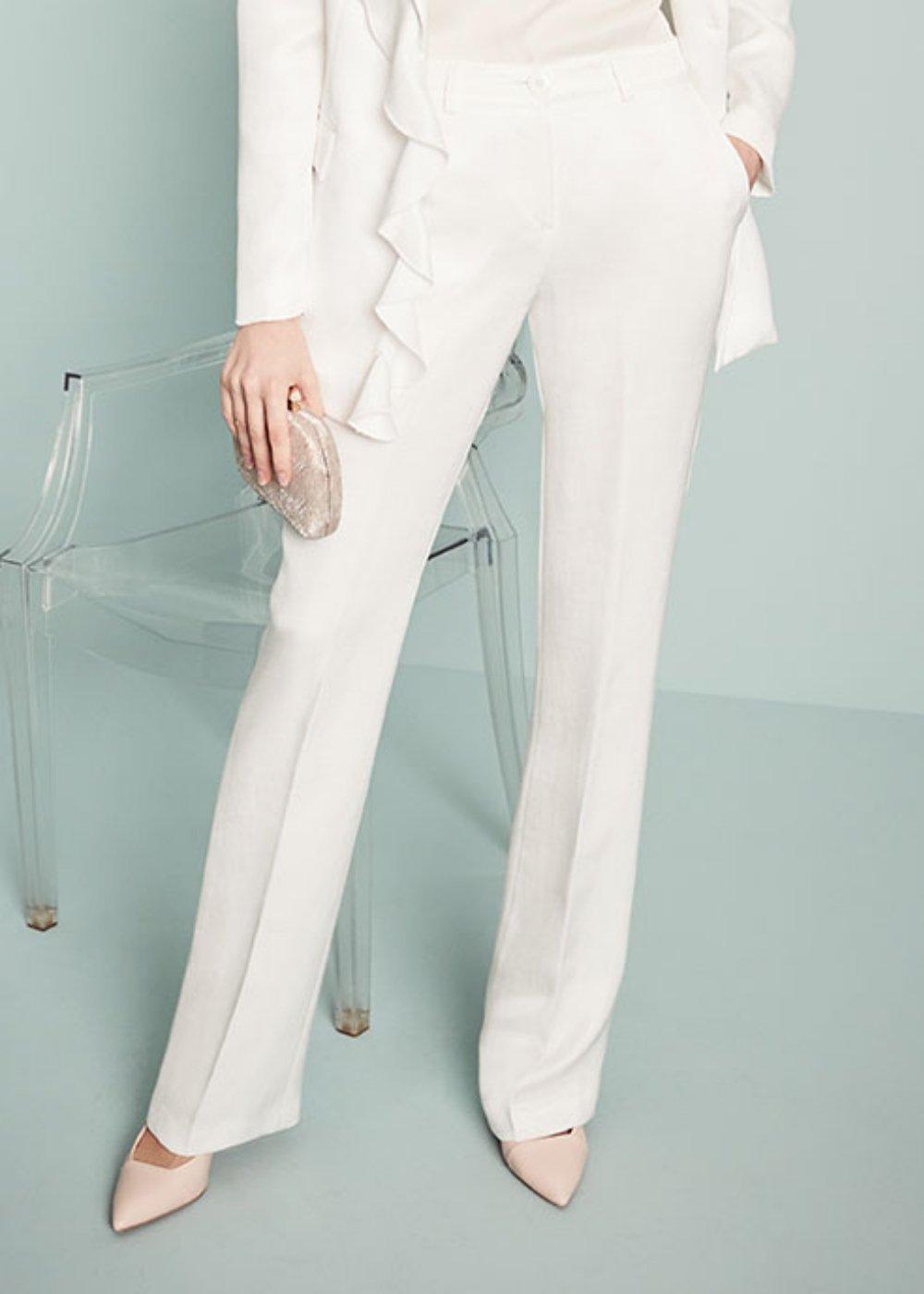 Pantalone Clair - White - Donna