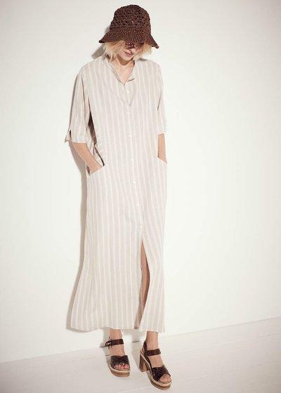 Adrian linen blend dress