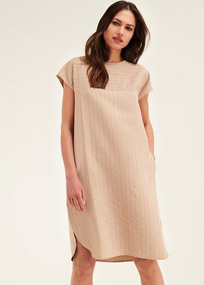 Avryl egg-shaped dress