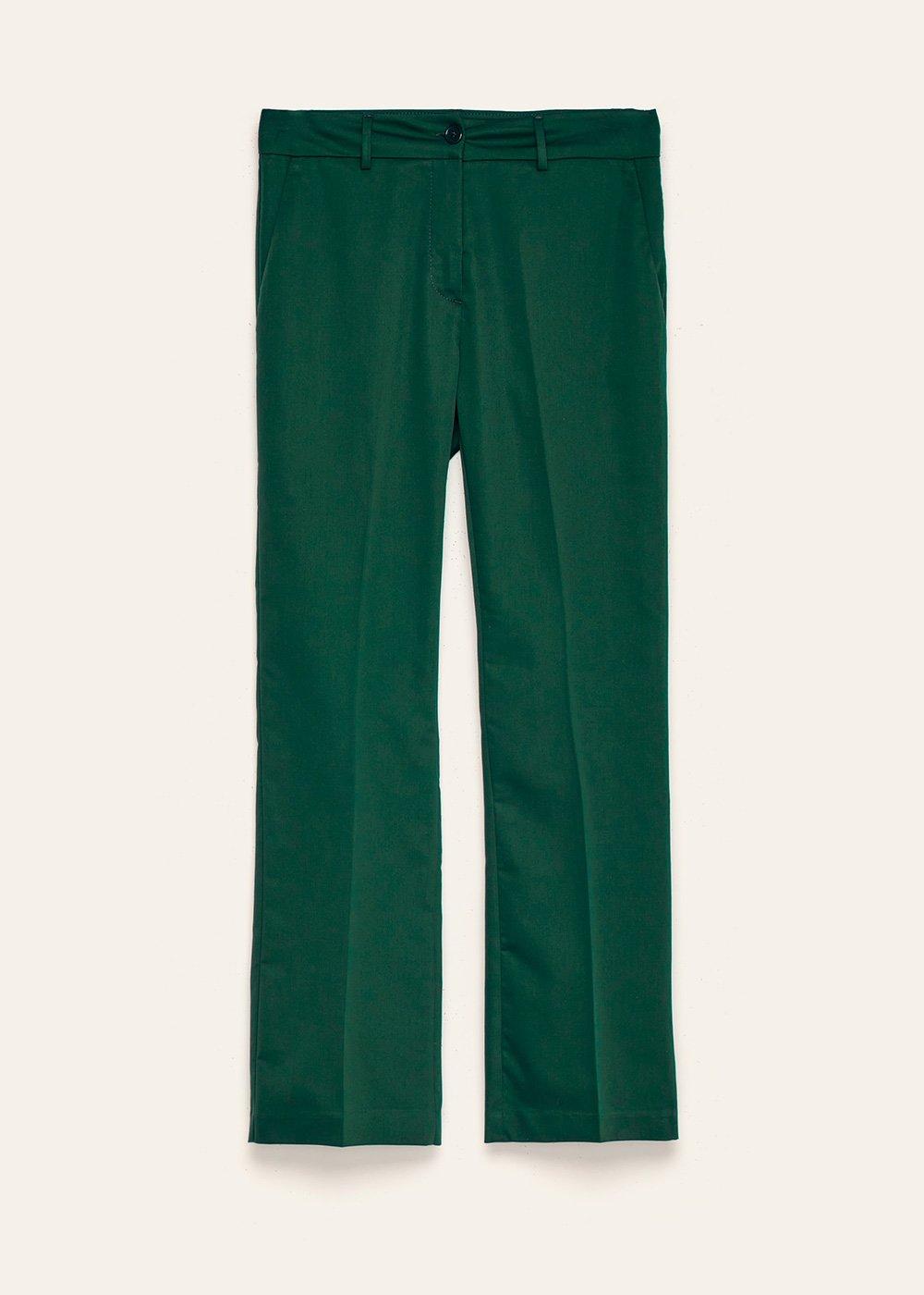 Pantalone Jacquelin in cotone - Foresta - Donna