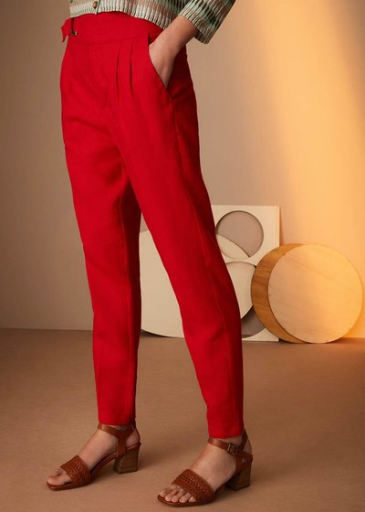 Pantalone Pako in lino