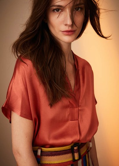 Camilla bamboo fabric blouse