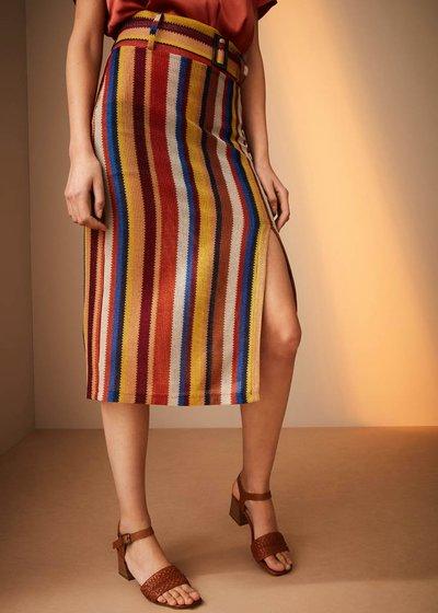 Gonna Victoria stripes multicolor