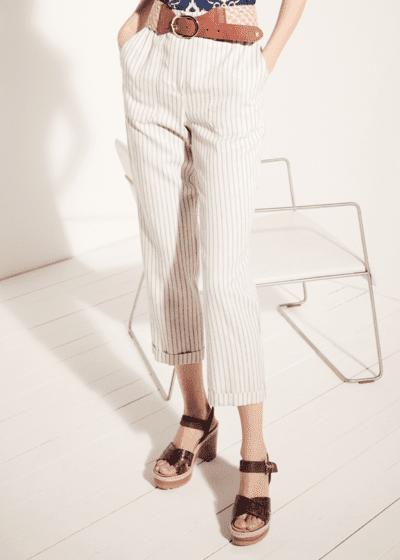 Pantalone Lara con tasconi e cintura