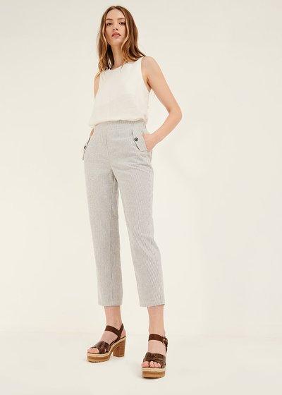Pantalone Cara con tasche pattine